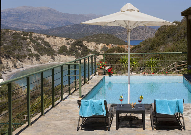 "Istron Bay-Villa ""Pan-Pan"" mit Privat-Pool"