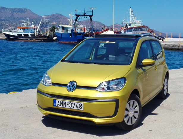 VW-Up TSI - electric sliding roof