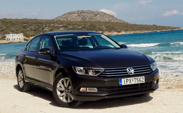 VW Passat turbo-diesel, automatic