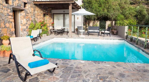 """Istron Bay-Villa """"Dimitris""""  - private Pool"""