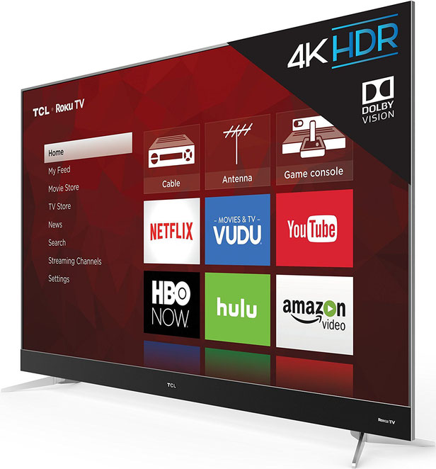 TCL 65C807 4K HDR TV