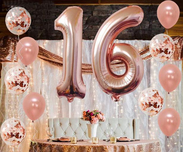 globos para fiesta de 16 años