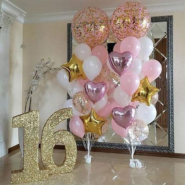 decoracion cumpleaños 16