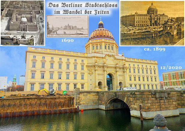 Das Berliner Stadtschloß im Wandel der Zeiten