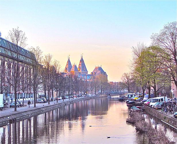 Amstderdam: Blick auf das Rijks Museum