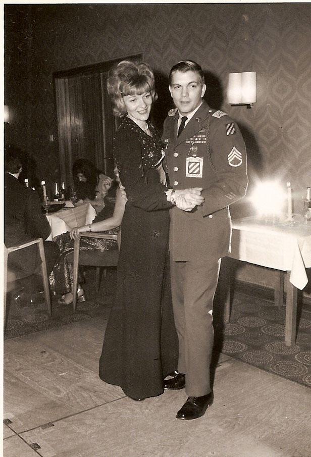 Inge und Preston vor über 40 Jahren