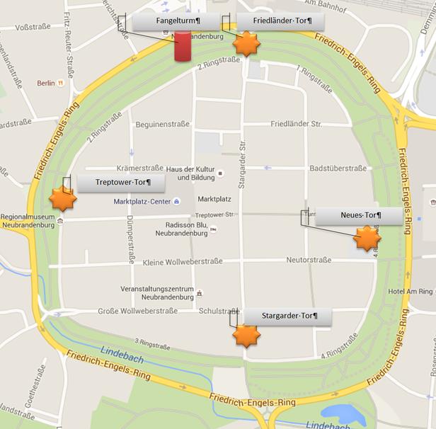 erstellt mit Google-Maps