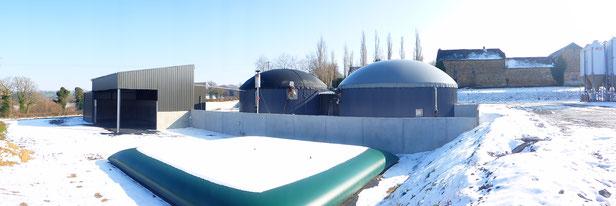 Biogas aus Schafmist in Frankreich - Novis