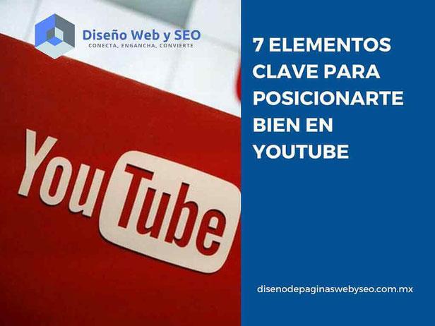 posicionamiento web en youtube - redes sociales - manejo de redes sociales