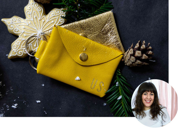 Leather Keychain by Suede and Co featured in the artisan Christmas gift guide