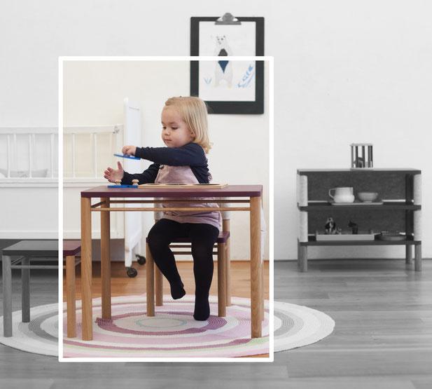 Coclico Kinder-Möbel Kinderstuhl Kindertisch Kinderregal Kinderhocker Montessori Naturmaterial Kinderzimmermöbel Onlineshop- zuckerfrei.berlin Kids Concept Store