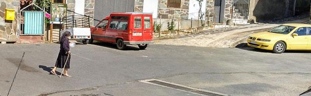 Parkplatz in El Gasco (nur für kleine Womos/Camper)