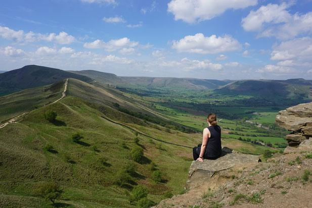 Bei einer Wanderung im Peak District