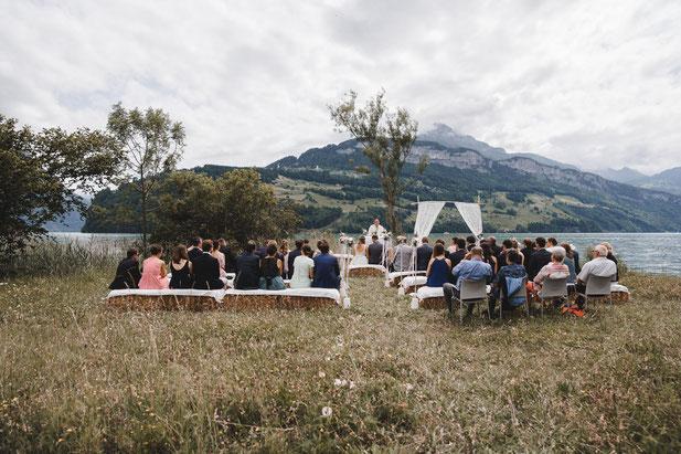 Hochzeit am Vierwaldstättersee