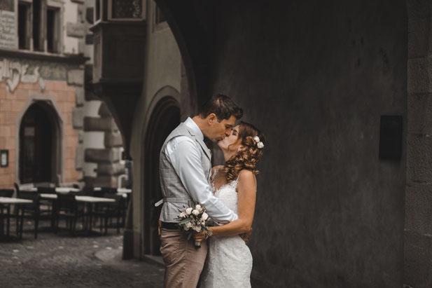 Hochzeit in der Zuger Altstadt