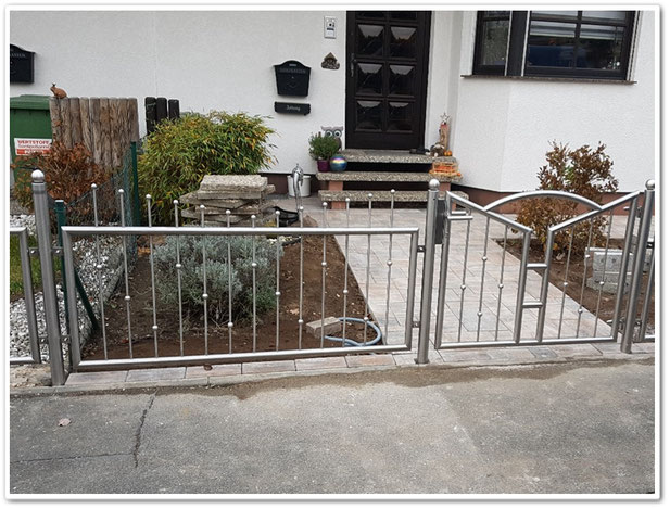Zaunanlagen für Garten und Abgrenzung im öffentlichen Bereich