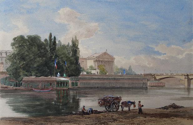 Karl Lang Archiv, Thomas Burton Watkin Forster TBWF Aquarell watercolor