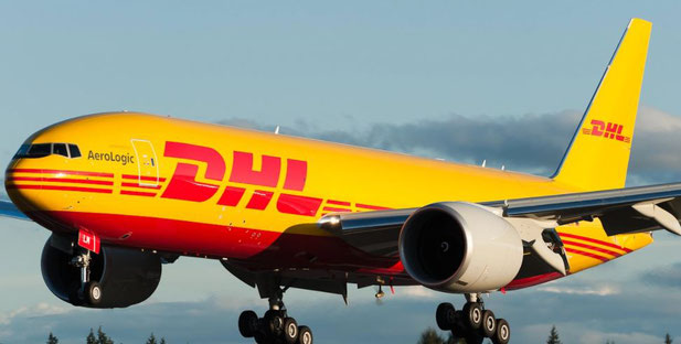 … while four of AeroLogic's 14 Triple Seven freighters are operated by DHL Express, including the new route HKG-CGN