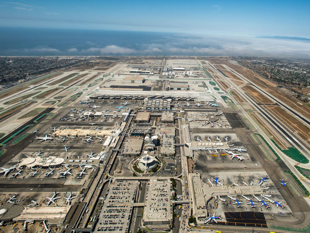 LAX aerial view  - company courtesy