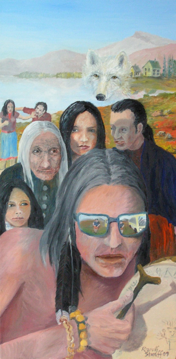 Indianer, Malerei