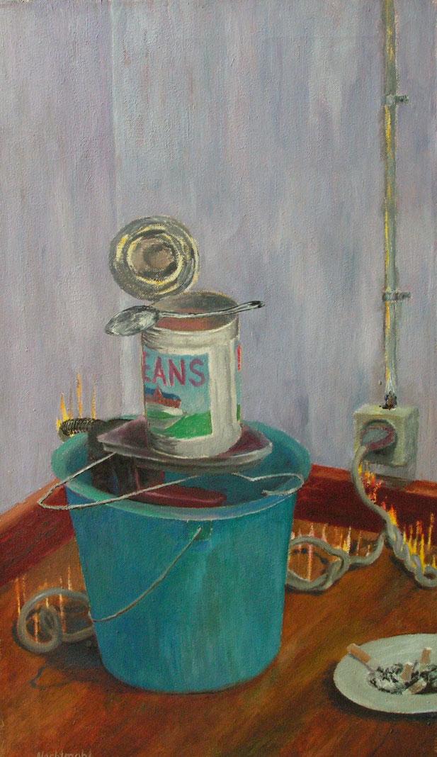 Nachtmahl, Malerei, nach Kerouac