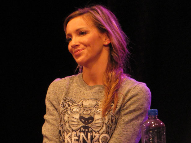 Katie Cassidy at Dutch Comic Con