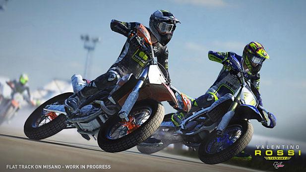 Motorrad Spiele: Valentino Rossi - The Game