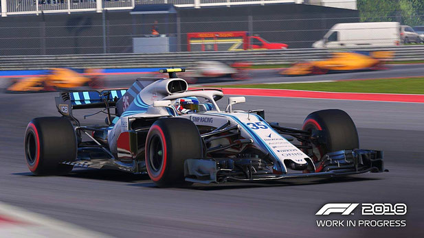 F1 2018 - Formel 1 Auto
