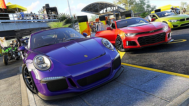 The Crew 2 - Porsche, Corvette, BMW