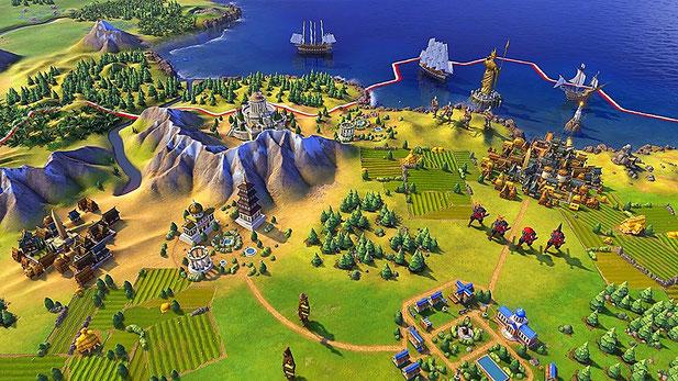 Beste PC Spiele: Sid Meier's Civilization 6