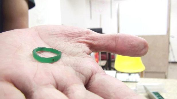 愛着の湧く手作り婚約指輪