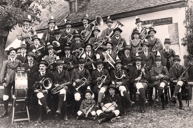 Die Musikkapelle 1924