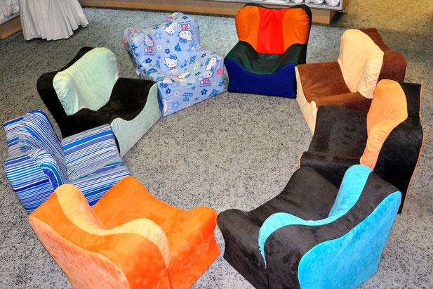 SCHUMM design - SCHUMMI Kindersessel, strapazierfähig und langlebig