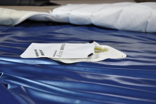 Gesund Schlafen Wassermatratzen von Schumm design