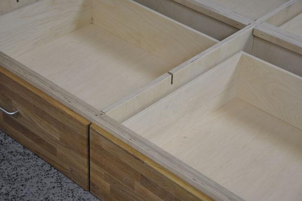 Langlebige Betten von Schumm Design