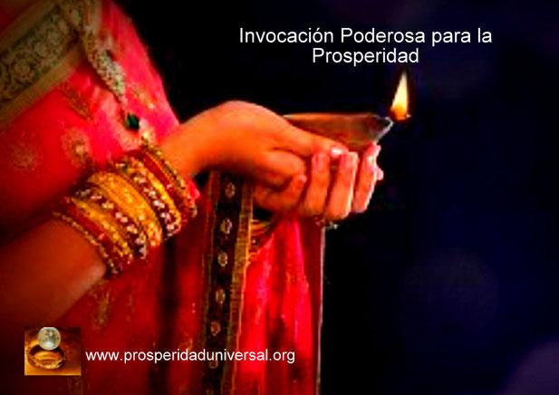 INVOCACIÓN PODEROSA PARA LA PROSPERIDAD - ORACIÓN PARA ACTIVAR LA ABUNDANCIA, DINERO, RIQUEZA- PROSPERIDAD UNIVERSAL