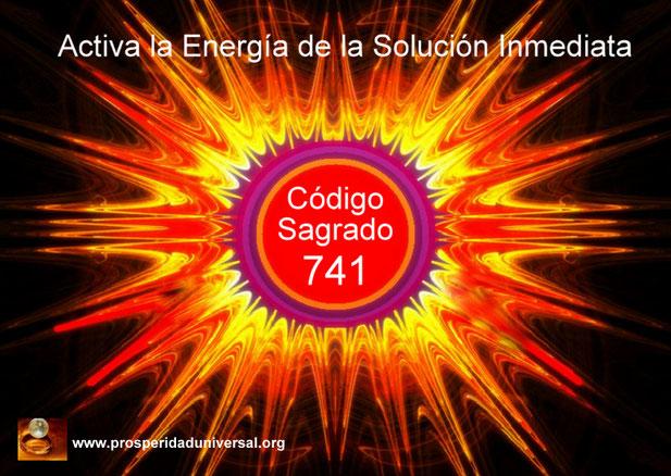 ACTIVACIÓN DE LA SOLUCIÓN INMEDIATA. CÓDIGO SAGRADO DE ACTIVACIÓN 741 - AGESTA - EJERCITACIÓN GUIADA- PROSPERIDAD UNIVERSAL