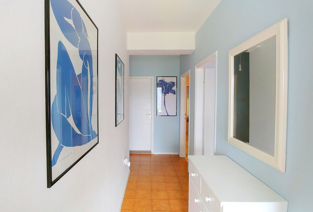 Green apt. - entrance hallway - Belvedere apartments Izola