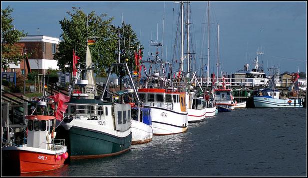 Fischereisteg Gewerbehafen Heiligenhafen