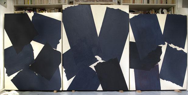 Dans l'atelier de Serge Fauchier juin 2020 ©BD-F