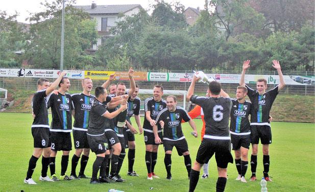 SG Gronig/Oberthal gewinnt den IBV Pokal auf neuem Rasenplatz