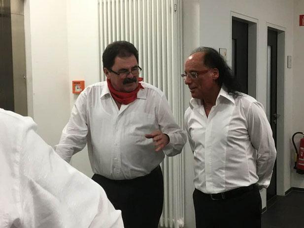 Giovanni Contrino im Gespräch mit Günther Setz von den Oberthaler Comedians