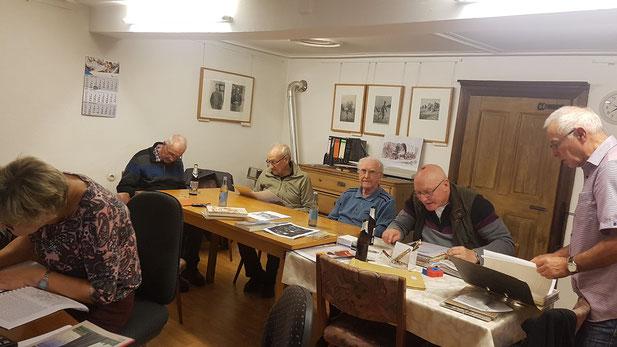 Die Mitglieder des Geschichts- und Heimatverein Oberthal e.V