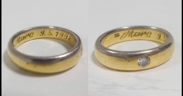 Wer hat diesen Ring verloren???? Oder kennt jemand, den jemanden kennt, der wiederrum erkennt wem der Ring gehört?