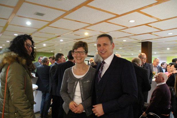 Bürgermeister Stephan Rausch begrüßte mit seiner Frau Marianne zahlreiche Gäste