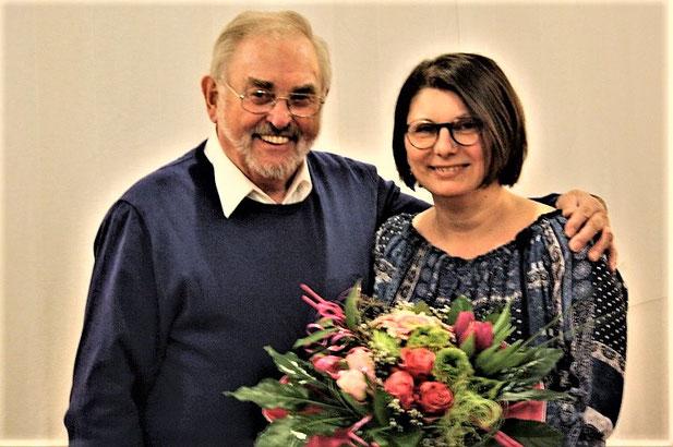 Hans-Herbert Mörsdorf und Martina Veit
