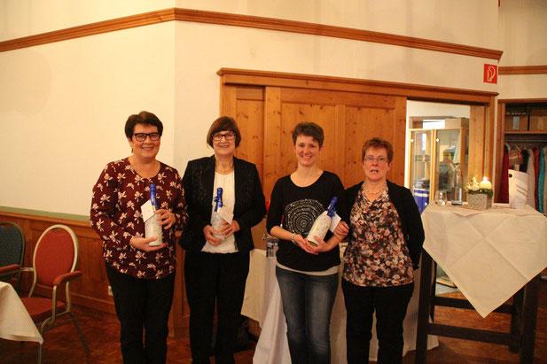 Vorstand: Gisela Nilles, Christa Rauber, Doris Scherer, Margret Rauber