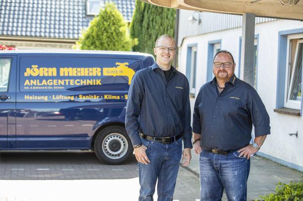 Geschäftsführung:  André Bohland und Christian Stricker