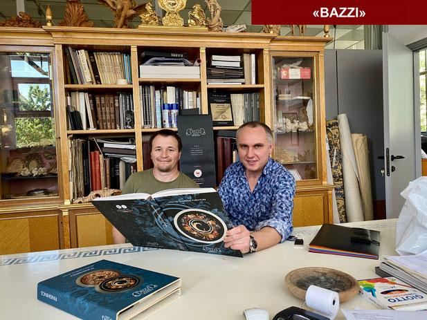 Синьор Джованни, совладелец фабрики «BAZZI»