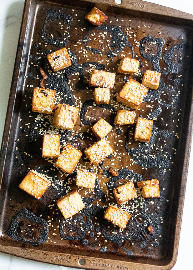 When it comes to oven baked tofu, look no further than this vegan tofu recipe. The tofu marinade recipe is so easy and healthy and will be your vegetarian meal go to!